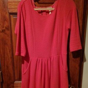 EUC M Matilda Jane coral dress